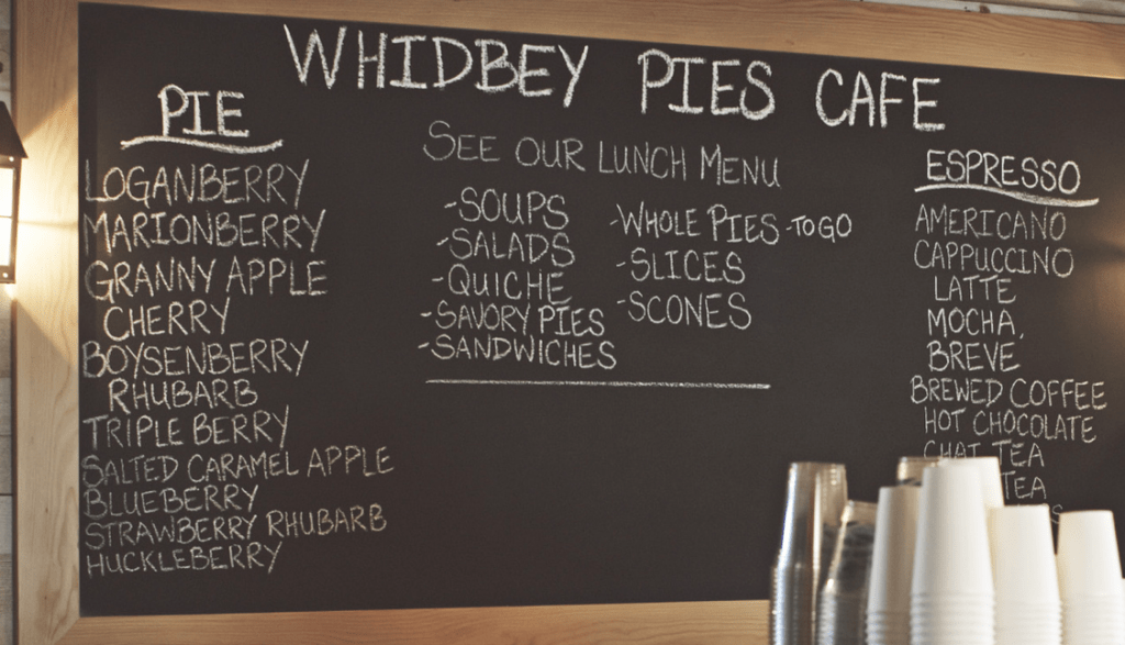 Whidbey PIes and Cafe