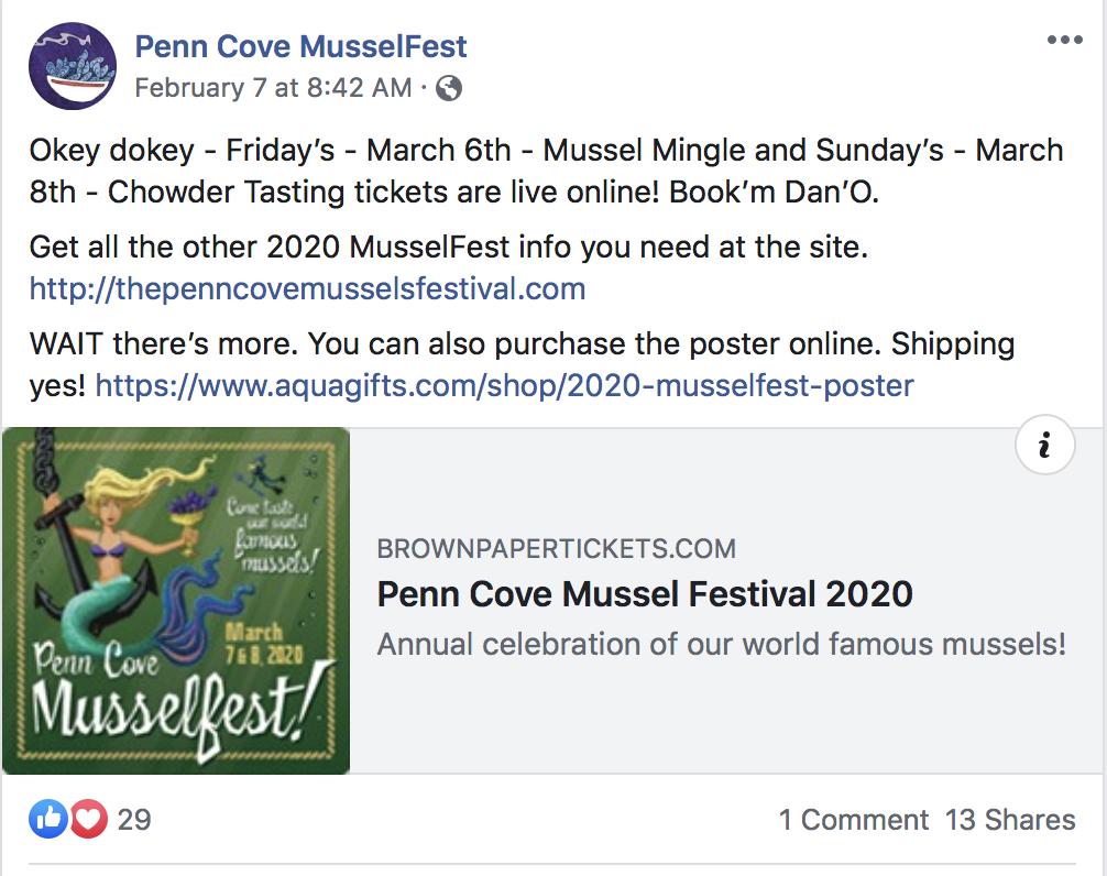 Penn Cove Musselfest