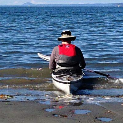 Kayaking on Holmes Harbor